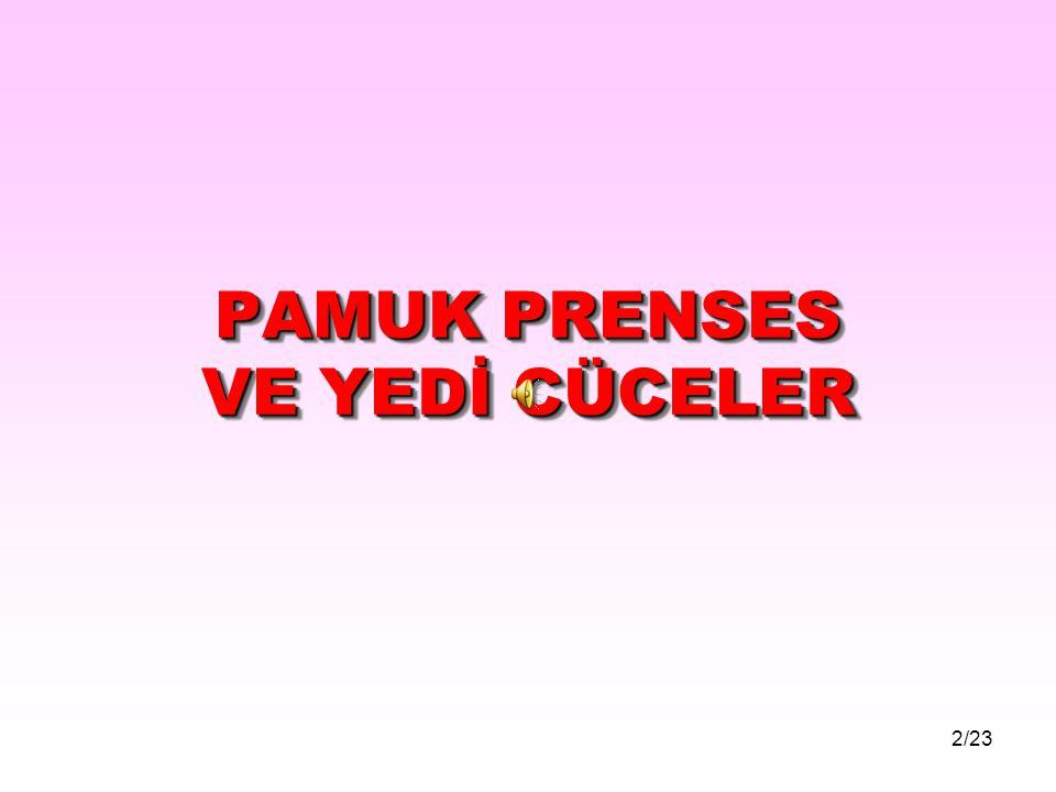 PAMUK PRENSES VE YEDİ CÜCELER