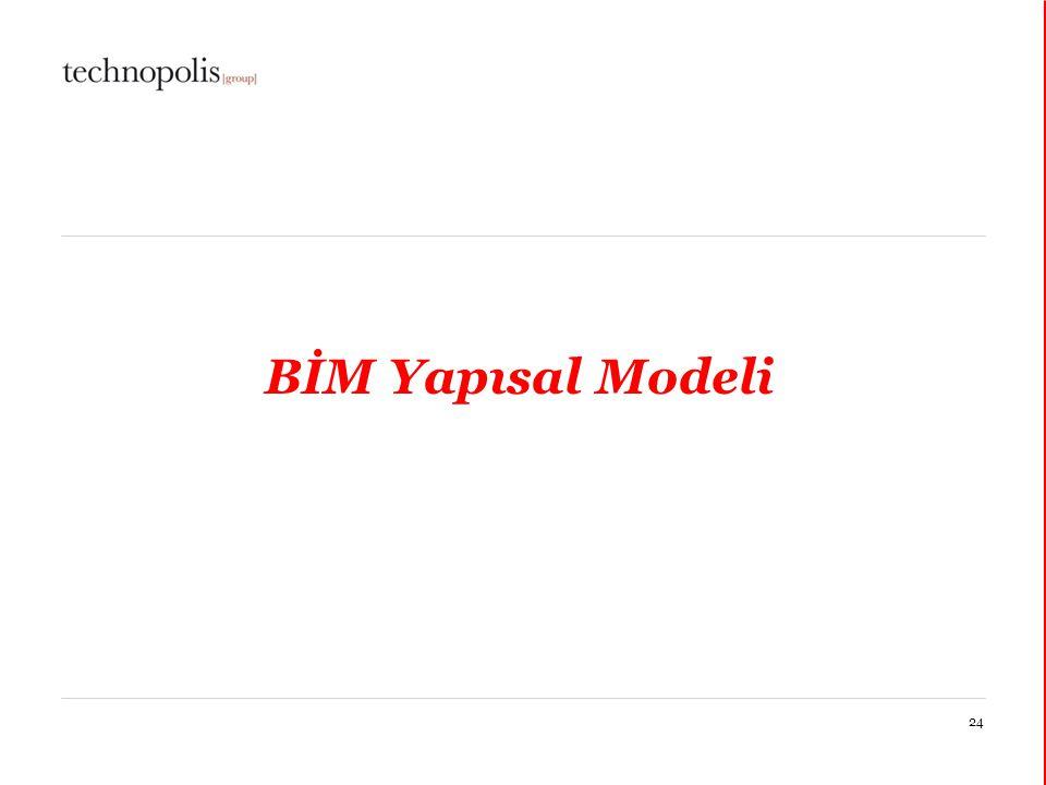 BİM Yapısal Modeli