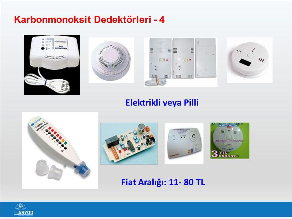Karbonmonoksit Dedektörleri - 4