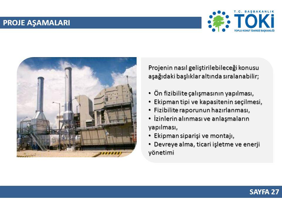 PROJE AŞAMALARI Projenin nasıl geliştirilebileceği konusu aşağıdaki başlıklar altında sıralanabilir;