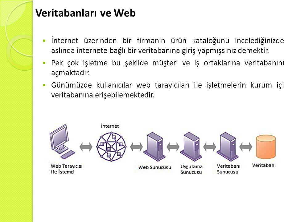 Veritabanları ve Web