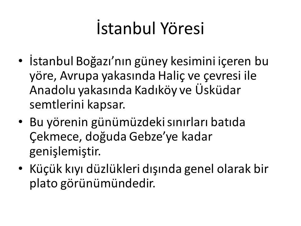 İstanbul Yöresi