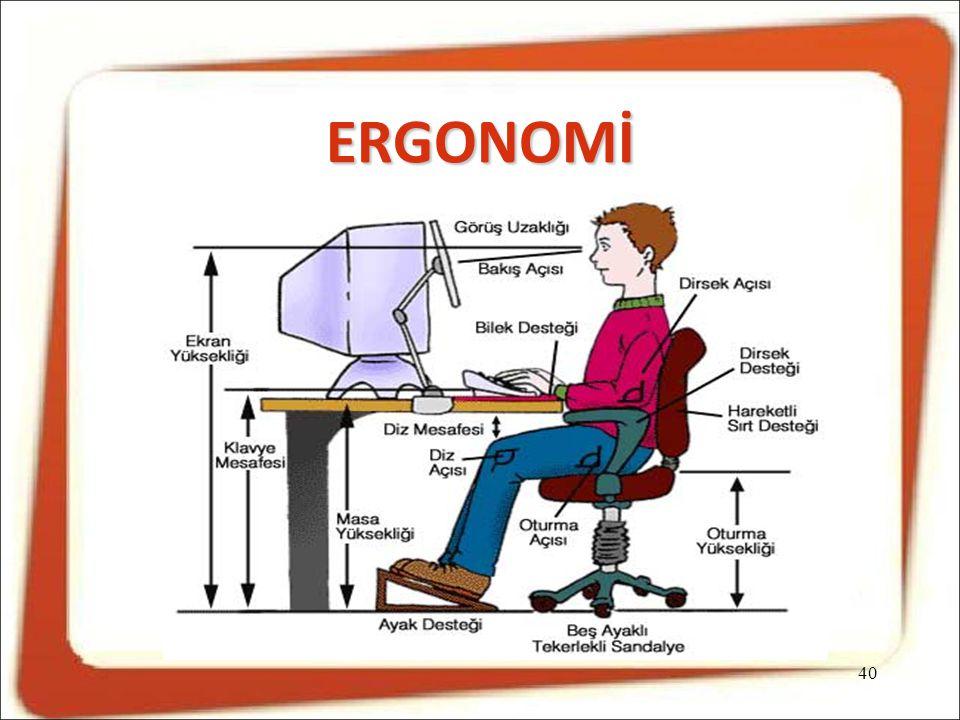 ERGONOMİ 40