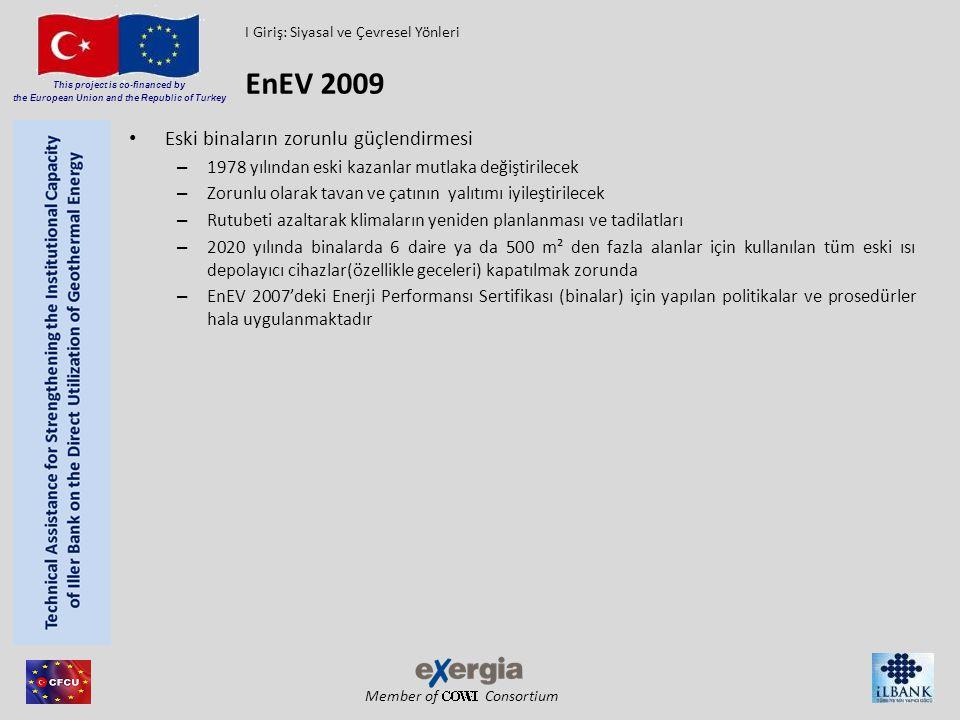 EnEV 2009 Eski binaların zorunlu güçlendirmesi