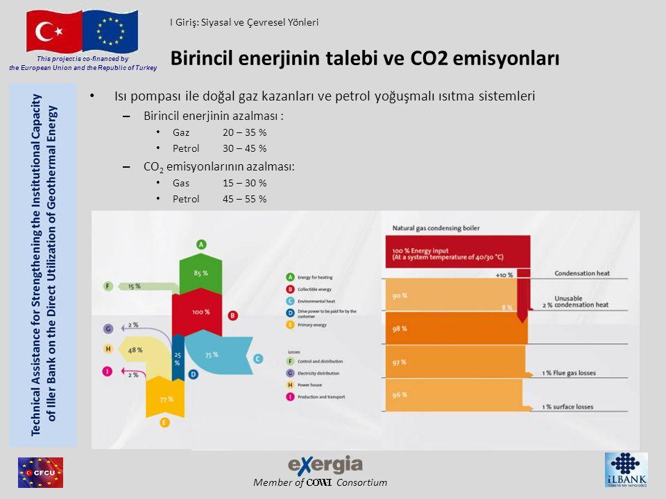 Birincil enerjinin talebi ve CO2 emisyonları