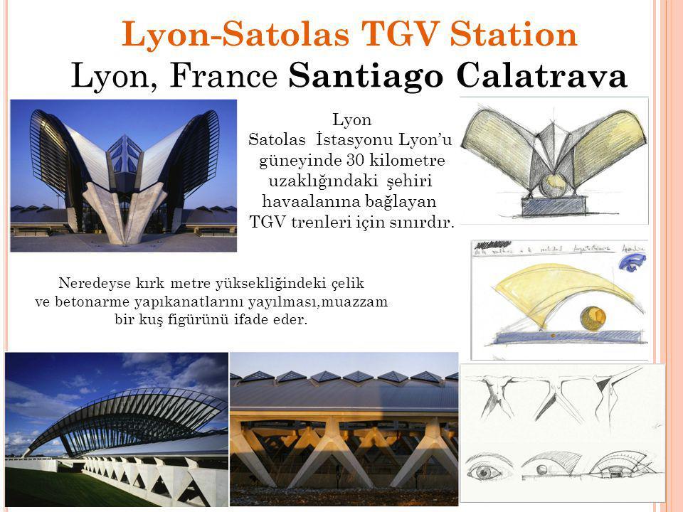 Lyon-Satolas TGV Station