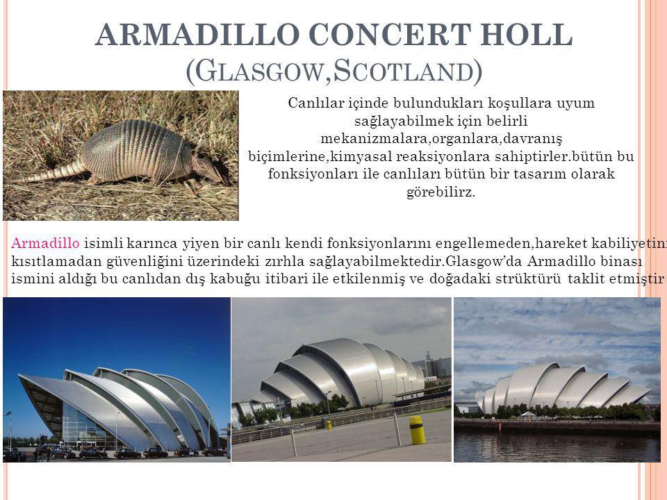 ARMADILLO CONCERT HOLL (Glasgow,Scotland)