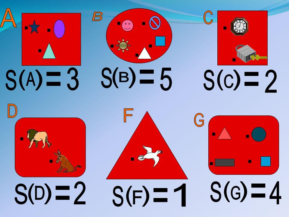 . . A. . . . B. C. . . . . . 3. S. ( ) 5. S. ( ) = S. ( ) 2. A. = B. = C.