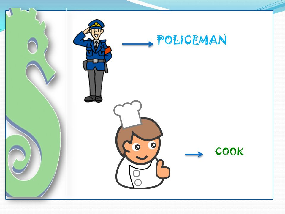 POLICEMAN COOK