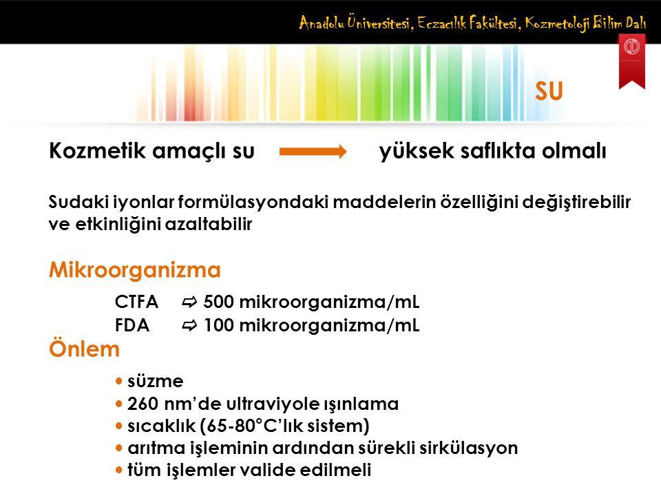 CTFA  500 mikroorganizma/mL