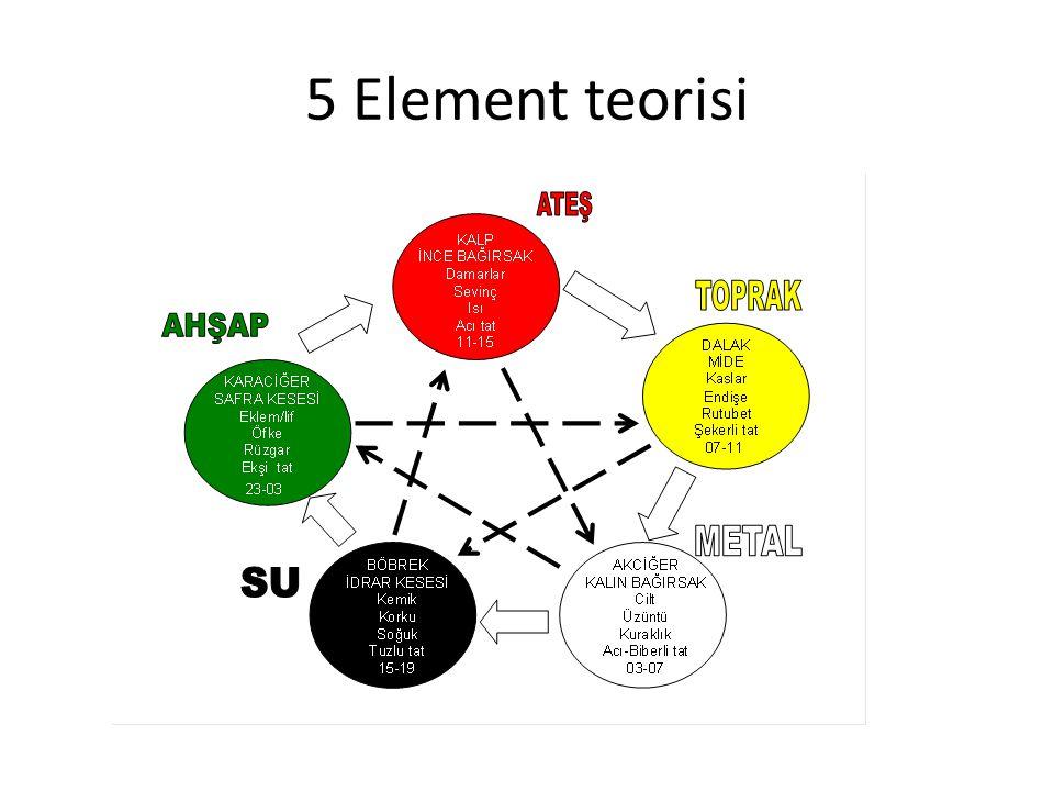 5 Element teorisi
