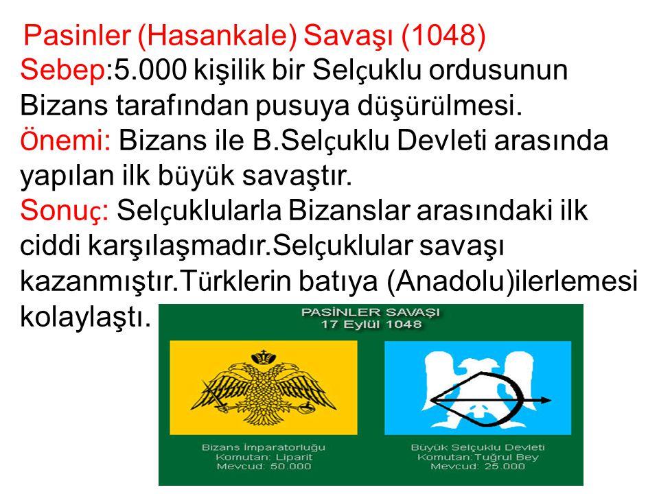 Pasinler (Hasankale) Savaşı (1048)