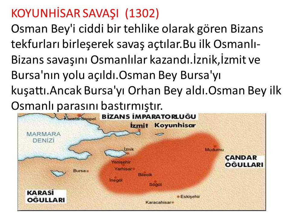 KOYUNHİSAR SAVAŞI (1302)