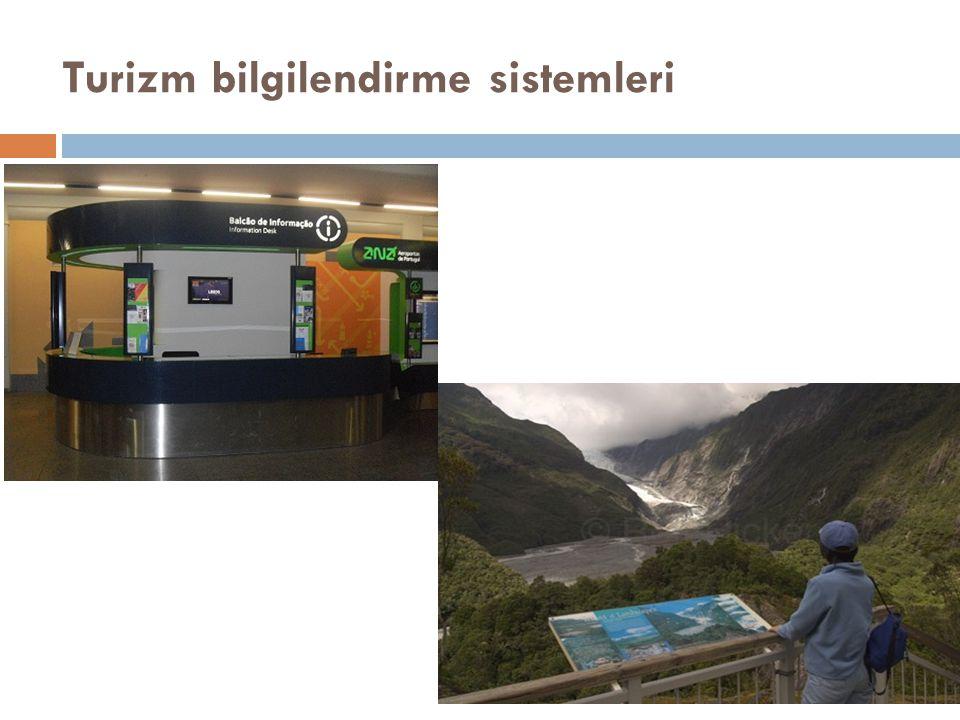Turizm bilgilendirme sistemleri
