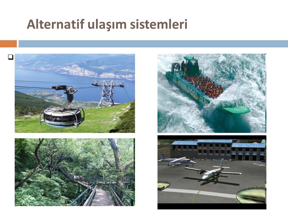 Alternatif ulaşım sistemleri