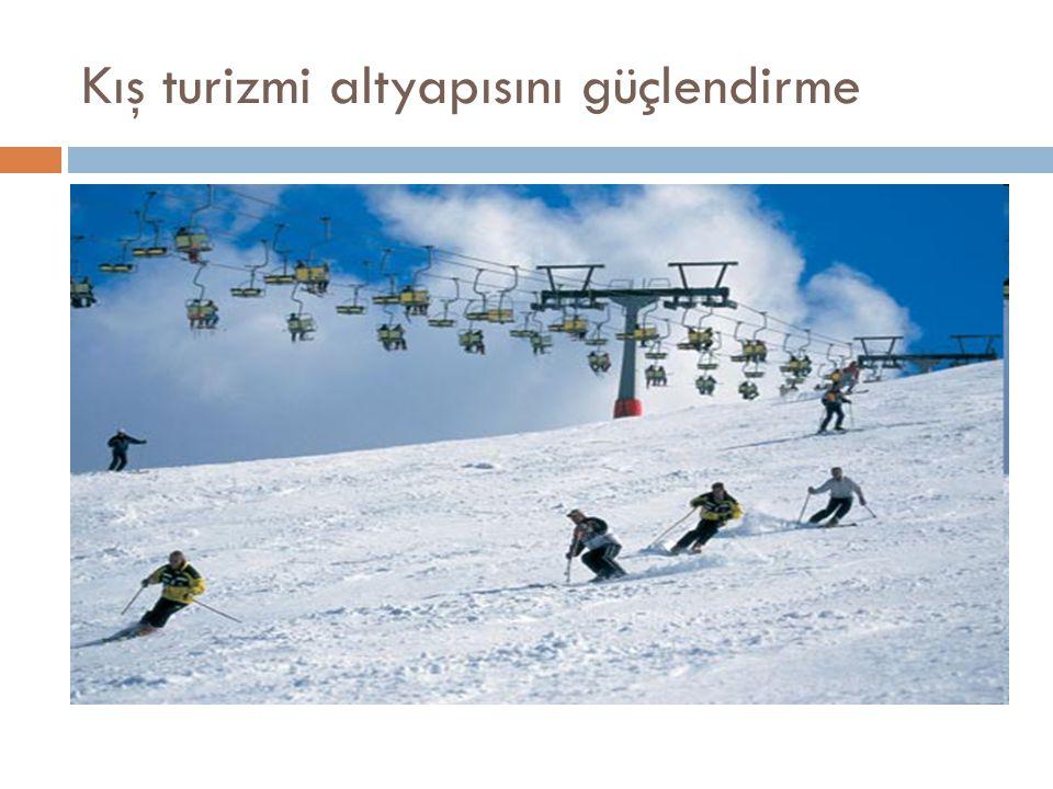Kış turizmi altyapısını güçlendirme