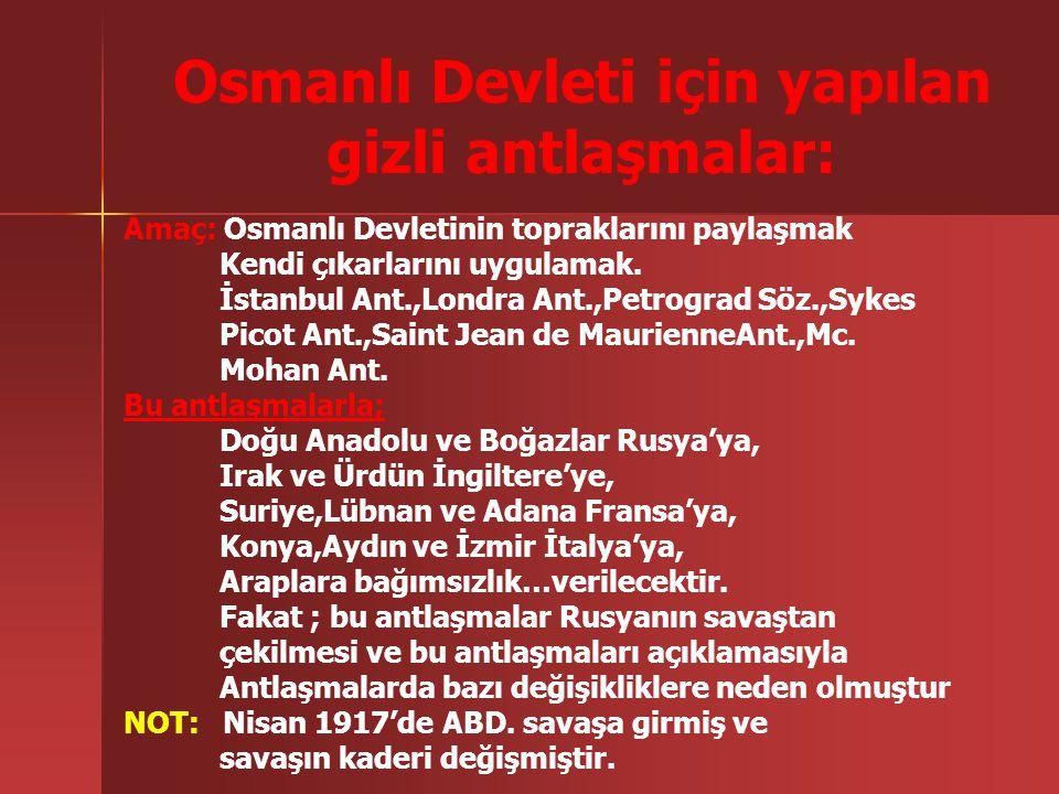Osmanlı Devleti için yapılan
