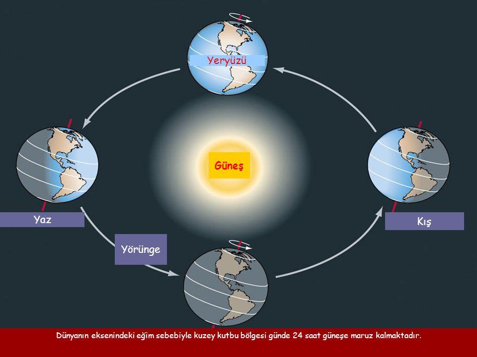 Yeryüzü Güneş Kış Yaz Yörünge