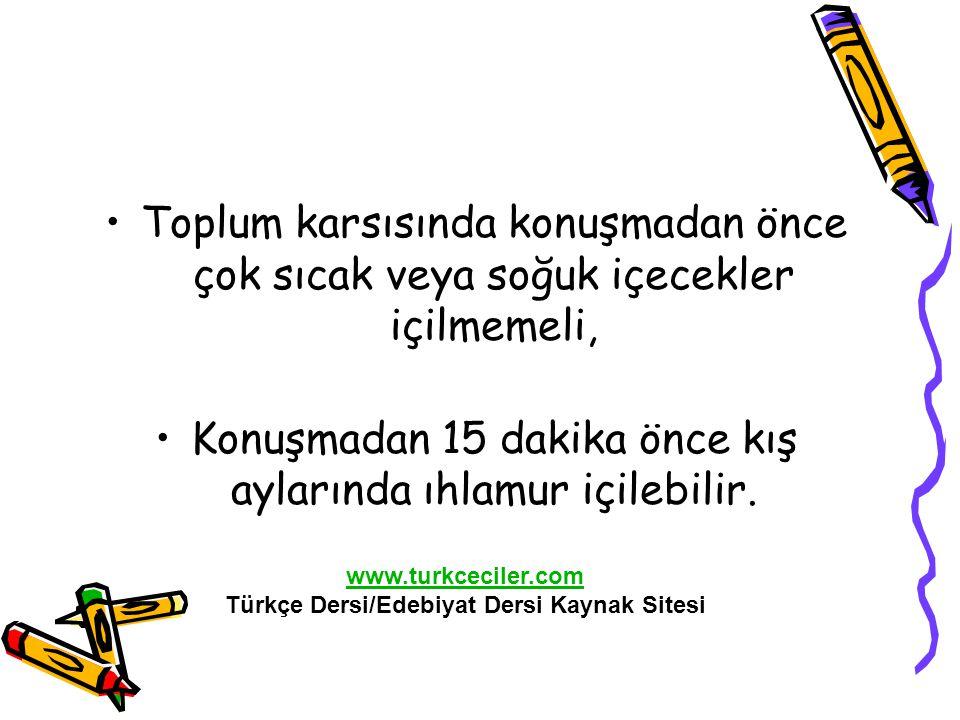 Türkçe Dersi/Edebiyat Dersi Kaynak Sitesi
