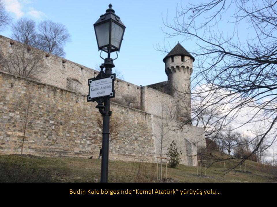 Budin Kale bölgesinde Kemal Atatürk yürüyüş yolu…