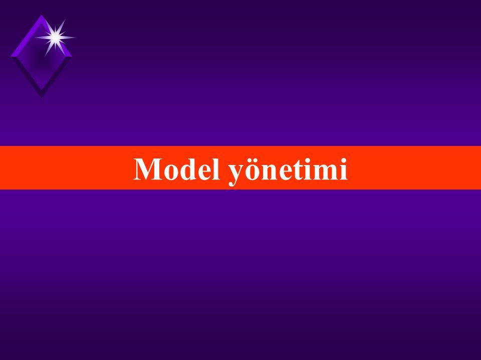 Model yönetimi