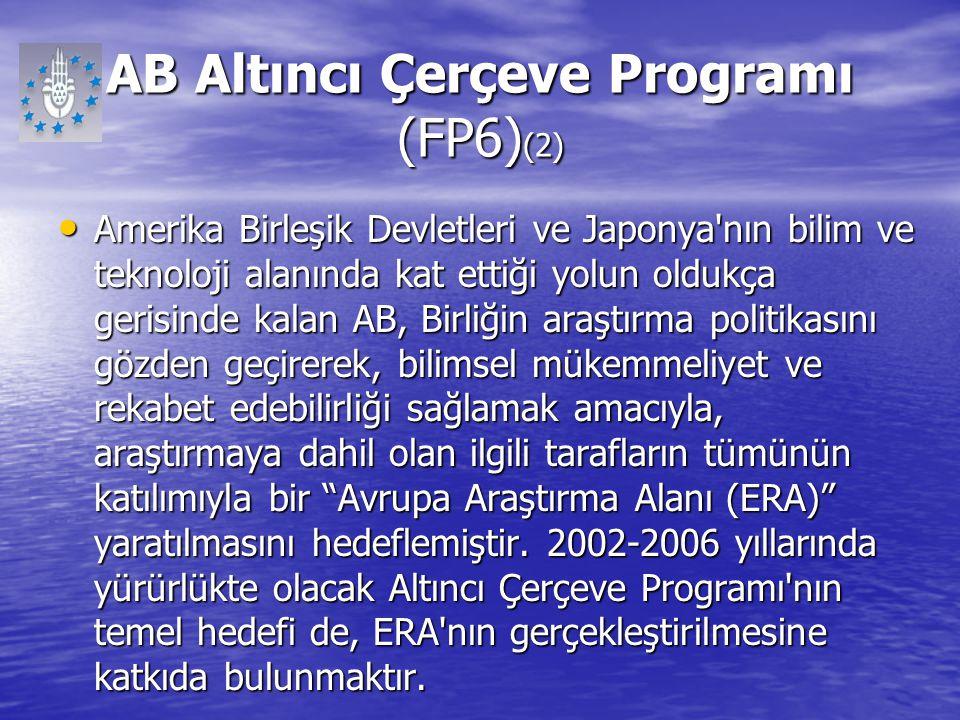 AB Altıncı Çerçeve Programı (FP6)(2)