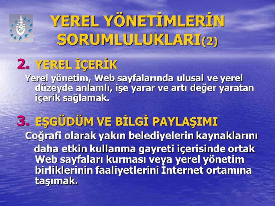 YEREL YÖNETİMLERİN SORUMLULUKLARI(2)