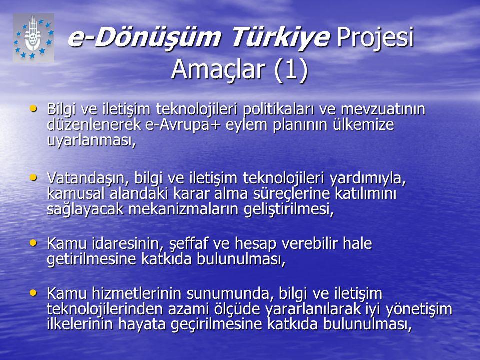 e-Dönüşüm Türkiye Projesi Amaçlar (1)