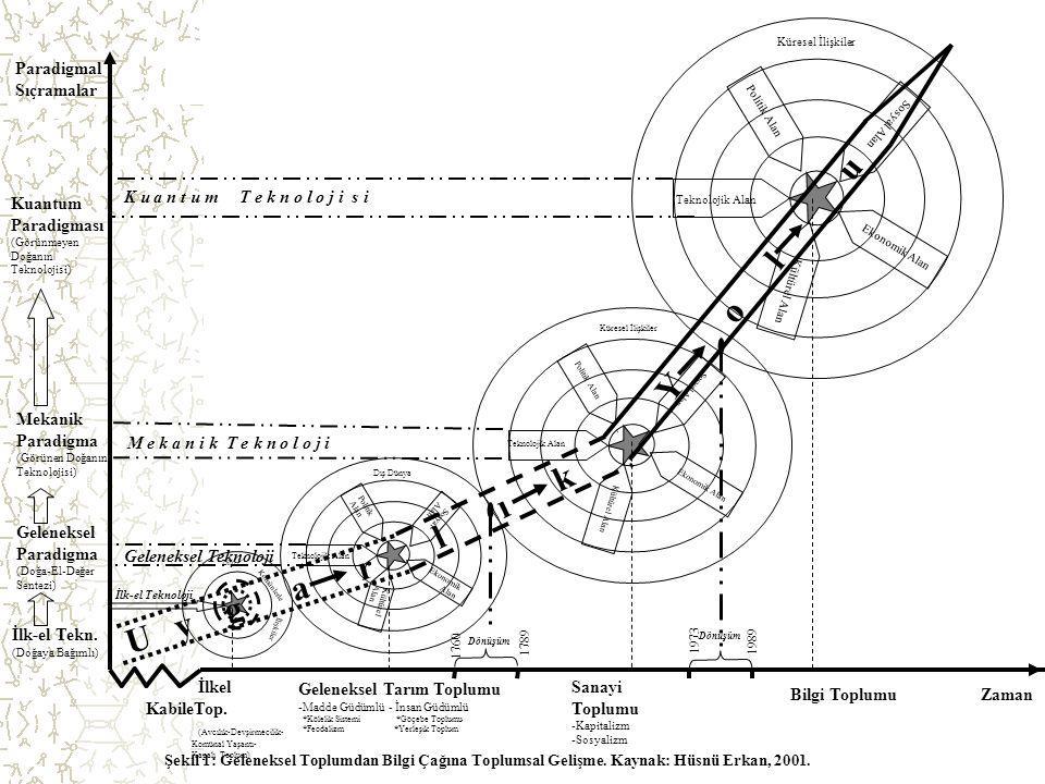 Y o l u l ı k U y g a r Paradigmal Sıçramalar Kuantum Paradigması