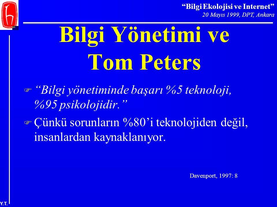 Bilgi Yönetimi ve Tom Peters