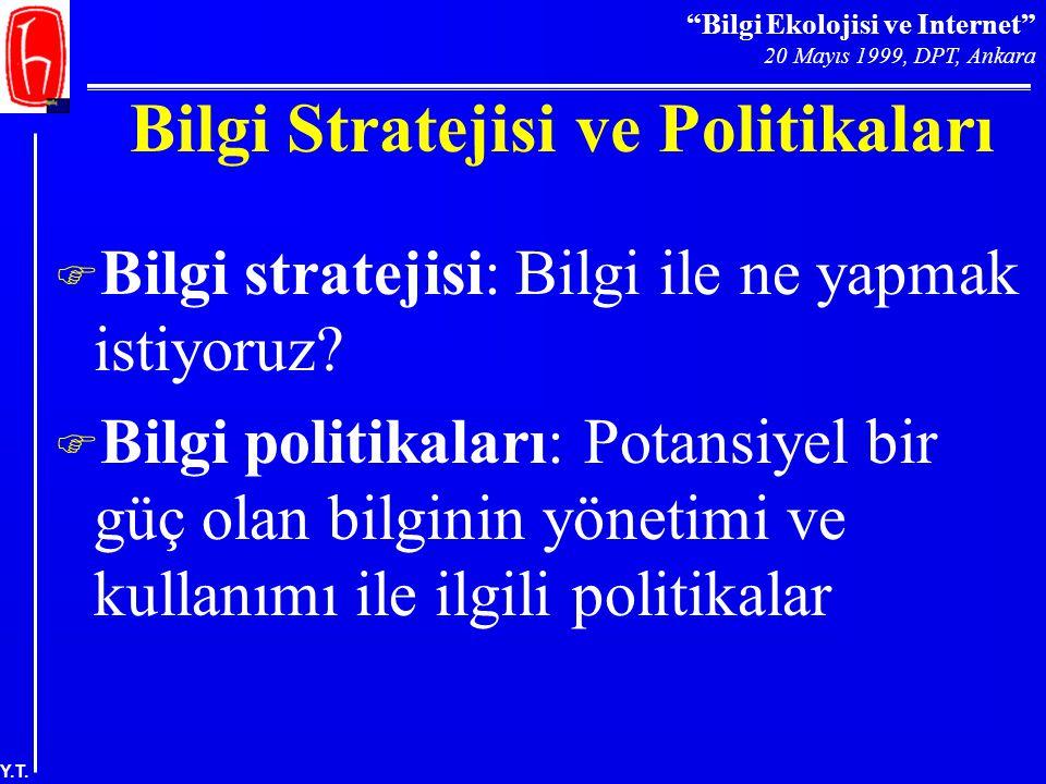 Bilgi Stratejisi ve Politikaları