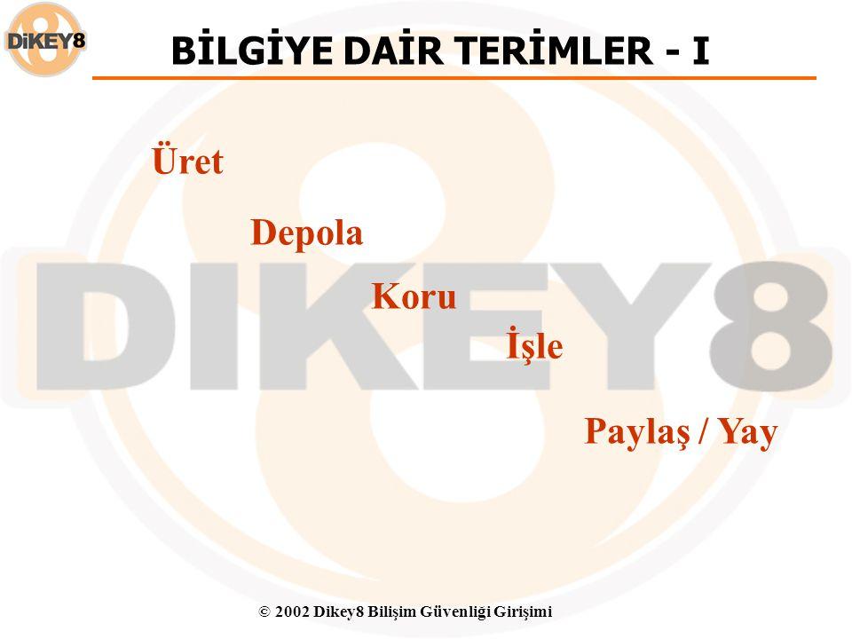 BİLGİYE DAİR TERİMLER - I