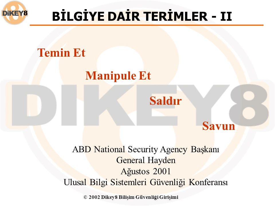 BİLGİYE DAİR TERİMLER - II
