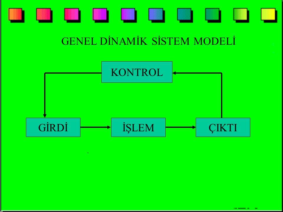 GENEL DİNAMİK SİSTEM MODELİ
