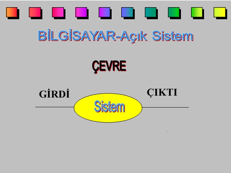 BİLGİSAYAR-Açık Sistem