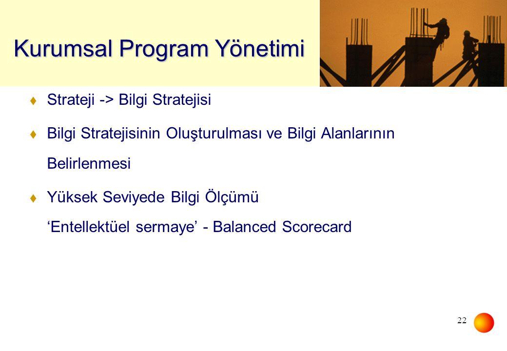 Kurumsal Program Yönetimi