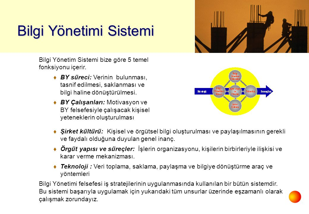 Bilgi Yönetimi Sistemi
