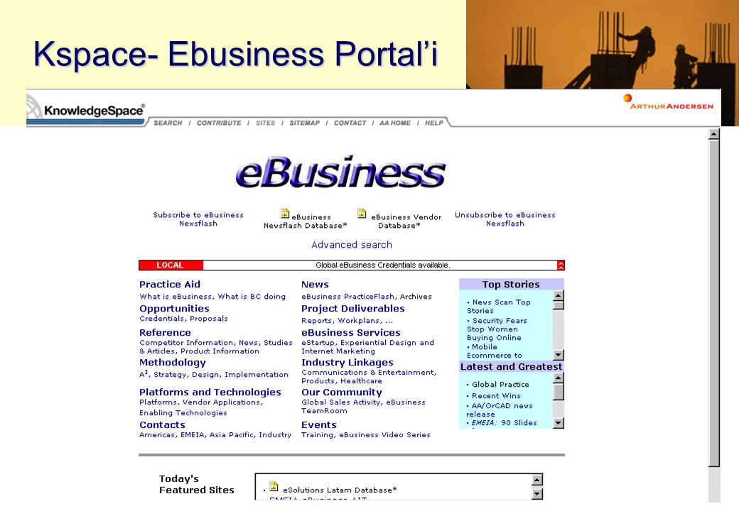Kspace- Ebusiness Portal'i
