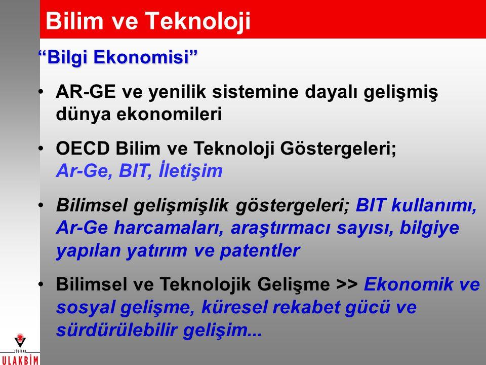 Bilim ve Teknoloji Bilgi Ekonomisi