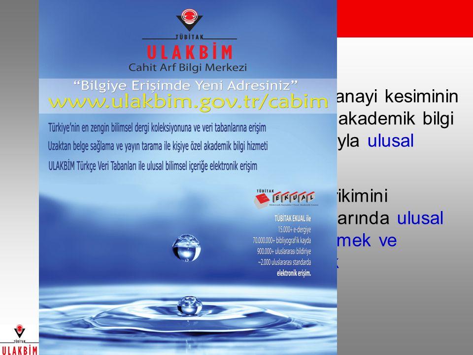 Cahit Arf Bilgi Merkezi Misyonu: