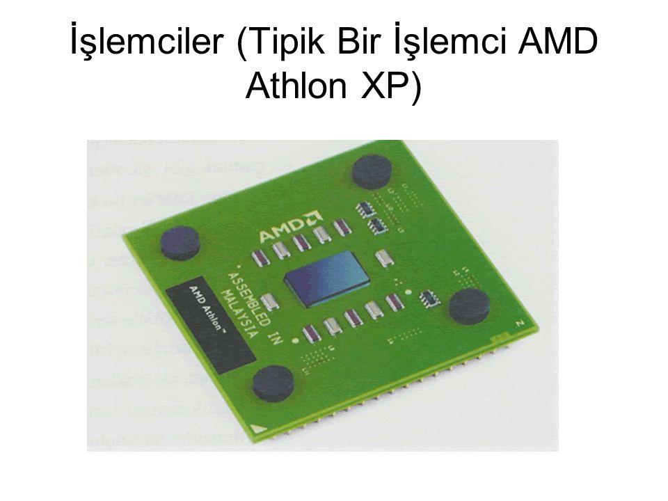 İşlemciler (Tipik Bir İşlemci AMD Athlon XP)