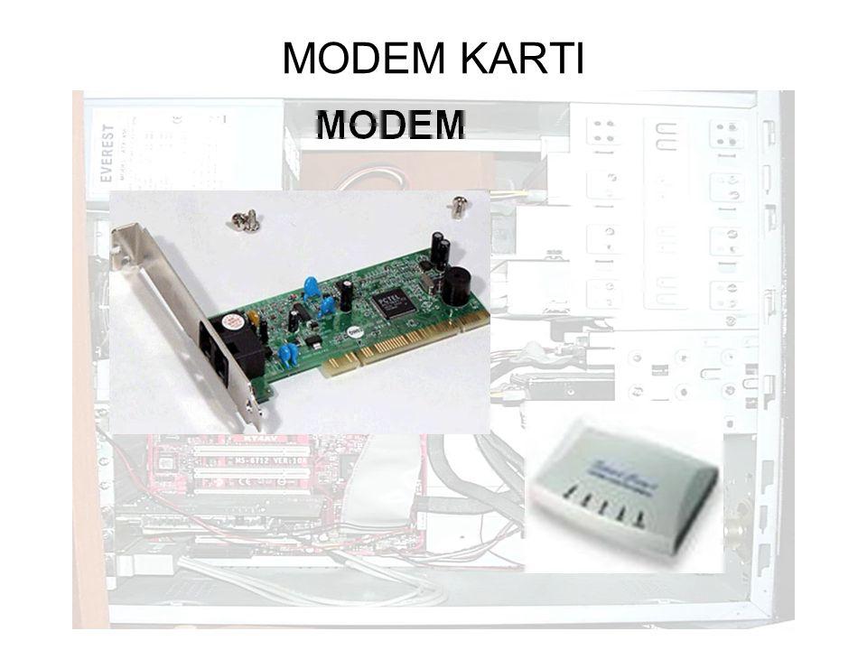 MODEM KARTI