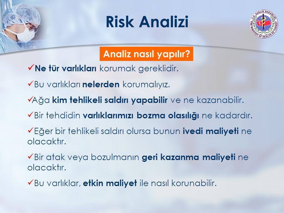 Risk Analizi Analiz nasıl yapılır