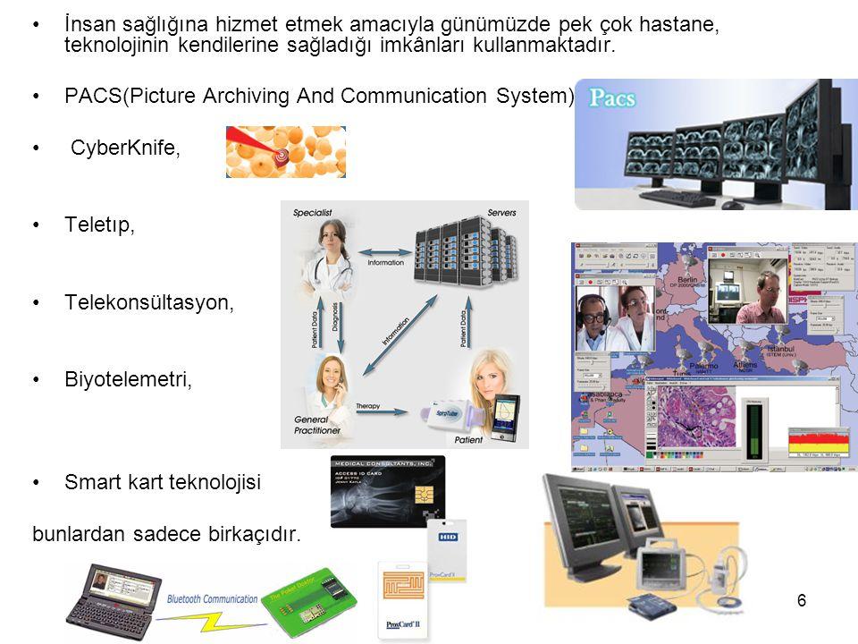 İnsan sağlığına hizmet etmek amacıyla günümüzde pek çok hastane, teknolojinin kendilerine sağladığı imkânları kullanmaktadır.