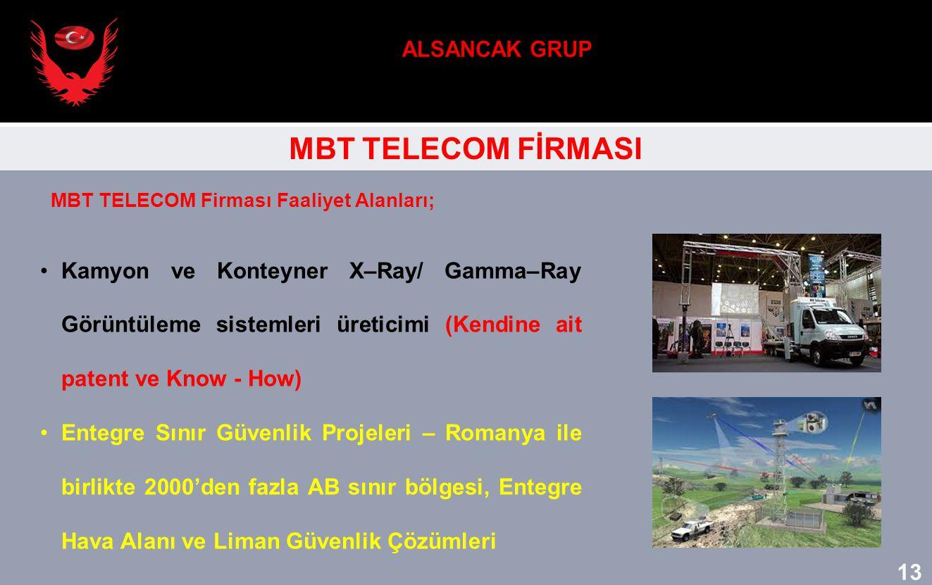 ALSANCAK GRUP MBT TELECOM FİRMASI