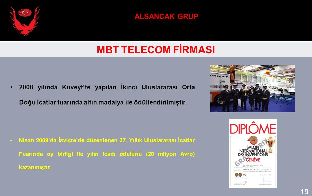 ALSANCAK GRUP MBT TELECOM FİRMASI 19