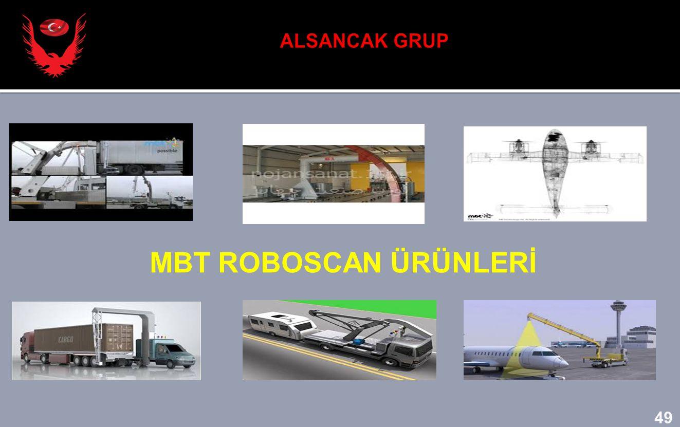 ALSANCAK GRUP MBT ROBOSCAN ÜRÜNLERİ 49