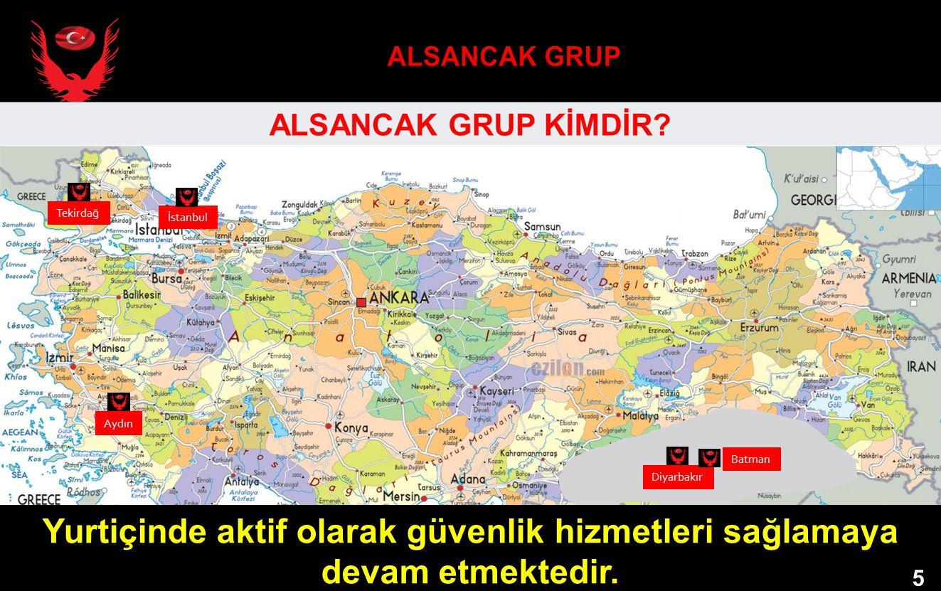 ALSANCAK GRUP Tekirdağ. İstanbul.
