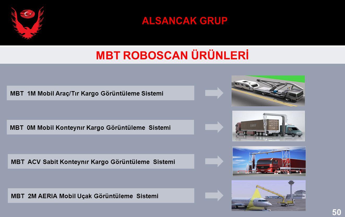 ALSANCAK GRUP MBT ROBOSCAN ÜRÜNLERİ 50