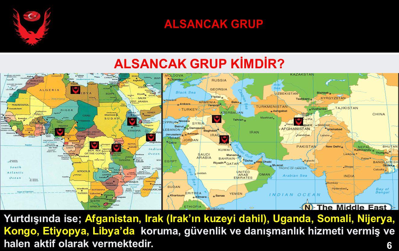 ALSANCAK GRUP ALSANCAK GRUP KİMDİR